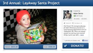 Layaway Santa 2013