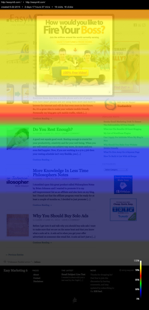 Crazy Egg Scrollmap