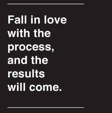 nikmatilah proses menuju hasil